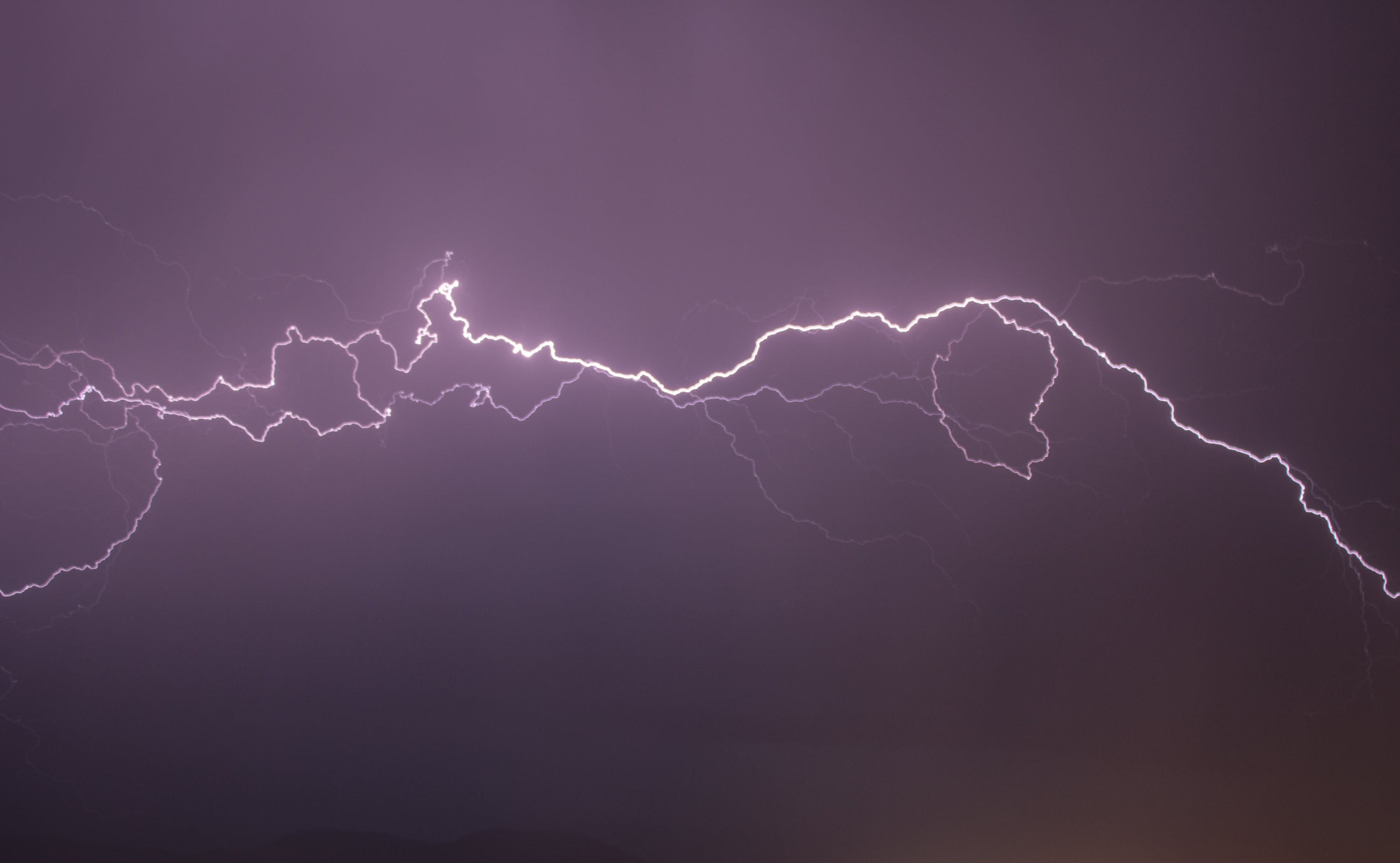 Free stock photo of sky, weather, electricity, flash