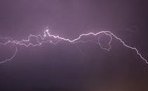 sky, weather, electricity