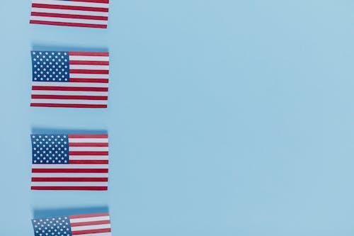 Základová fotografie zdarma na téma 4. července, americká vlajka, Amerika