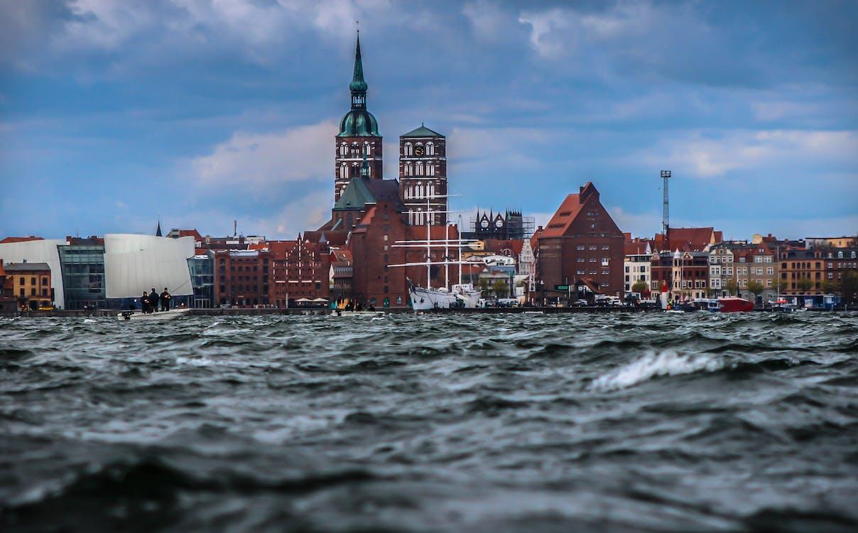 architektura, budovy, čluny