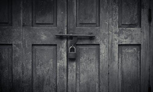 Foto d'estoc gratuïta de bloquejar, porta, vintage