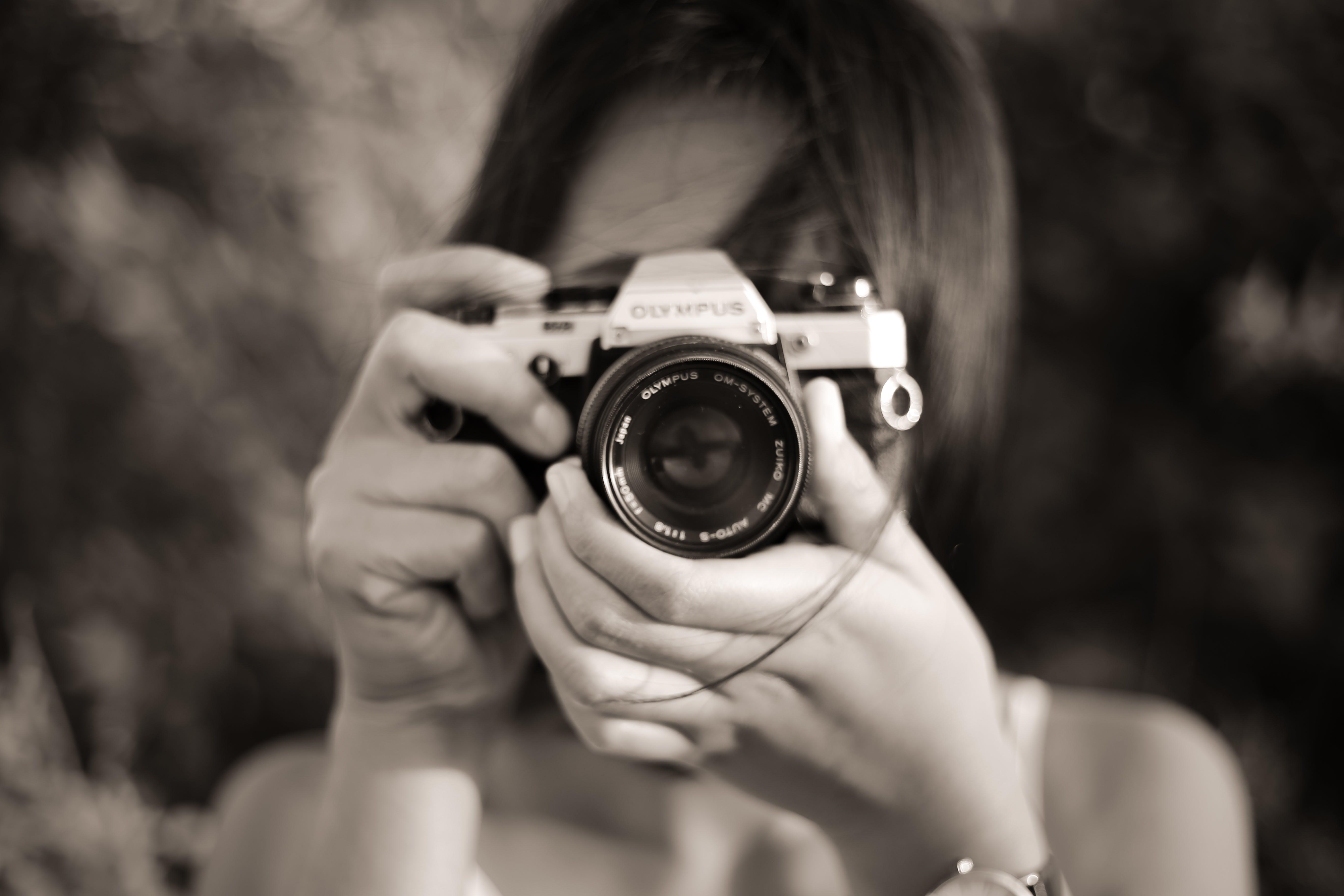 Free stock photo of analog camera, bali, black and white, olympus
