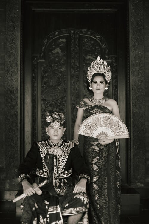 Free stock photo of balinese, black and white, culture