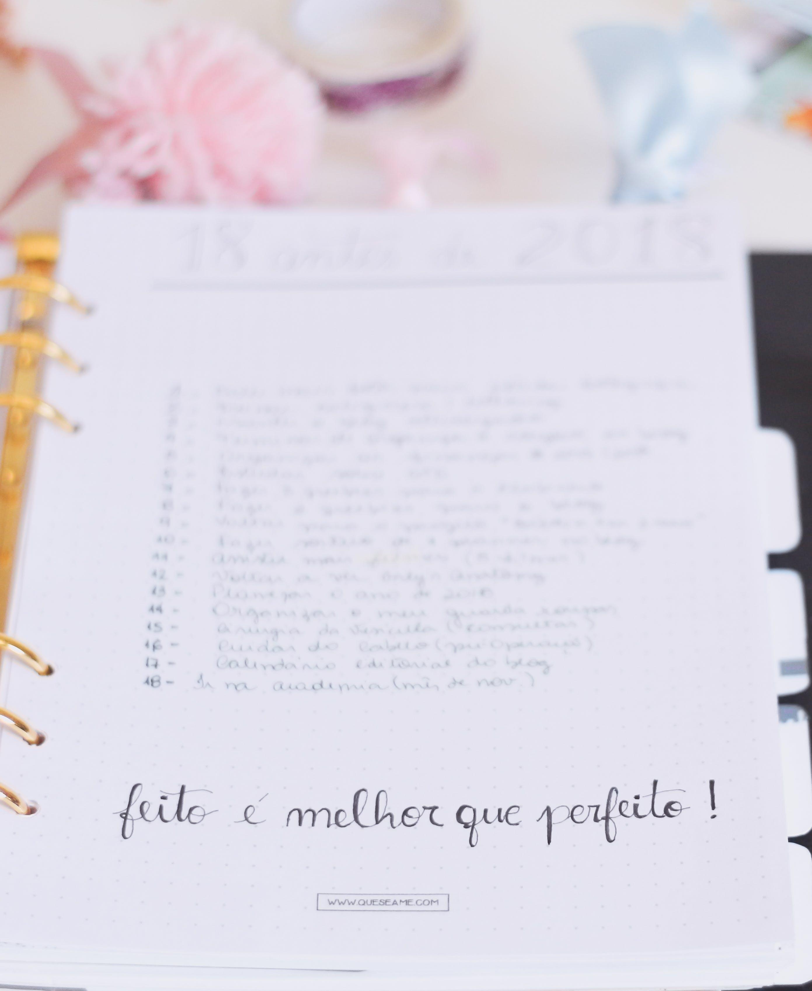 White Note With Fieto E Melhor Que Perfeito! Text