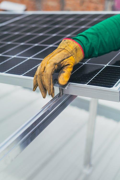 Бесплатное стоковое фото с Альтернативная энергия, вертикальный выстрел, возобновляемый источник энергии