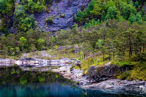 Δωρεάν στοκ φωτογραφιών με rock, αντανάκλαση, βουνό, βράχος