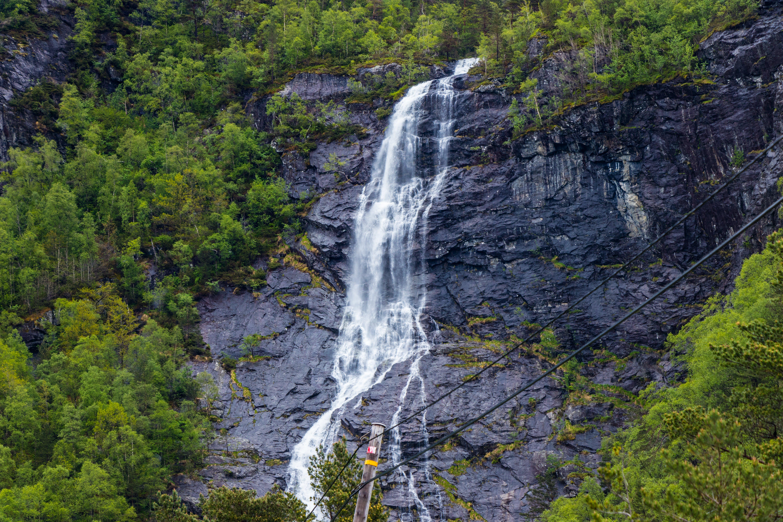Close-up Photo of Waterfalls