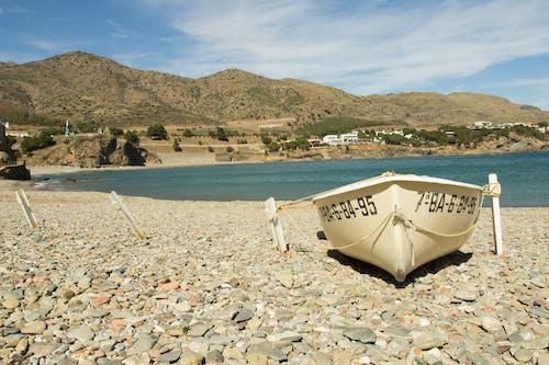 ビーチ, 家, 山岳, 岸の無料の写真素材