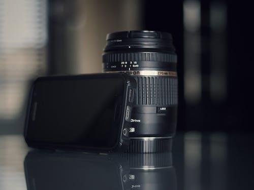 Black Nikon Dslr Camera Lens in Tilt-Shift Lens