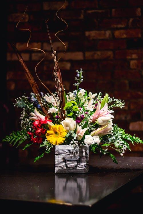 Бесплатное стоковое фото с букет, букет невесты, букеты цветов, зеленый