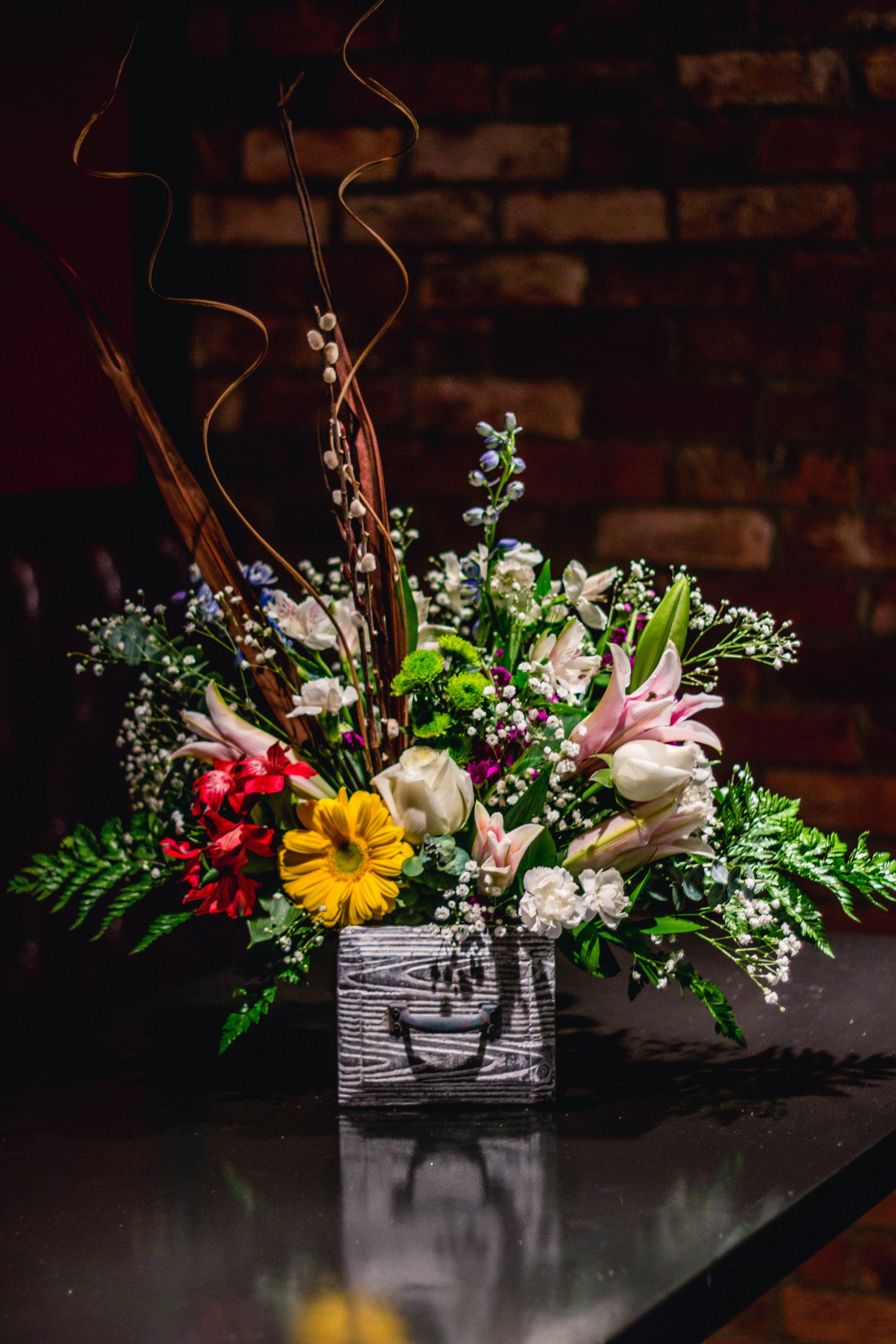 Δωρεάν στοκ φωτογραφιών με άνθη, ανθοδέσμη, κίτρινη, κόκκινο