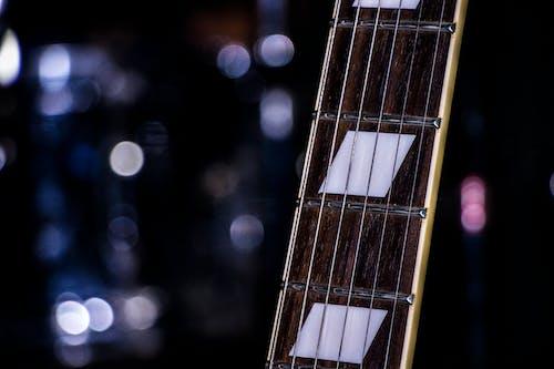 Free stock photo of e guitar, electric guitar, night