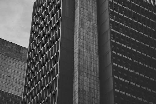 Gratis lagerfoto af bygning, sort og hvid, udvendig, Urban