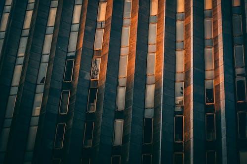 Gratis lagerfoto af bygning, solnedgang, udvendig