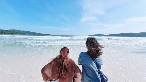 Immagine gratuita di cambogia, migliore amico, oceano