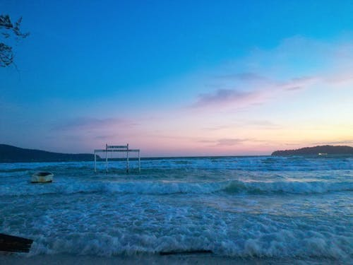 Immagine gratuita di cambogia, esercizi mattutini, in spiaggia