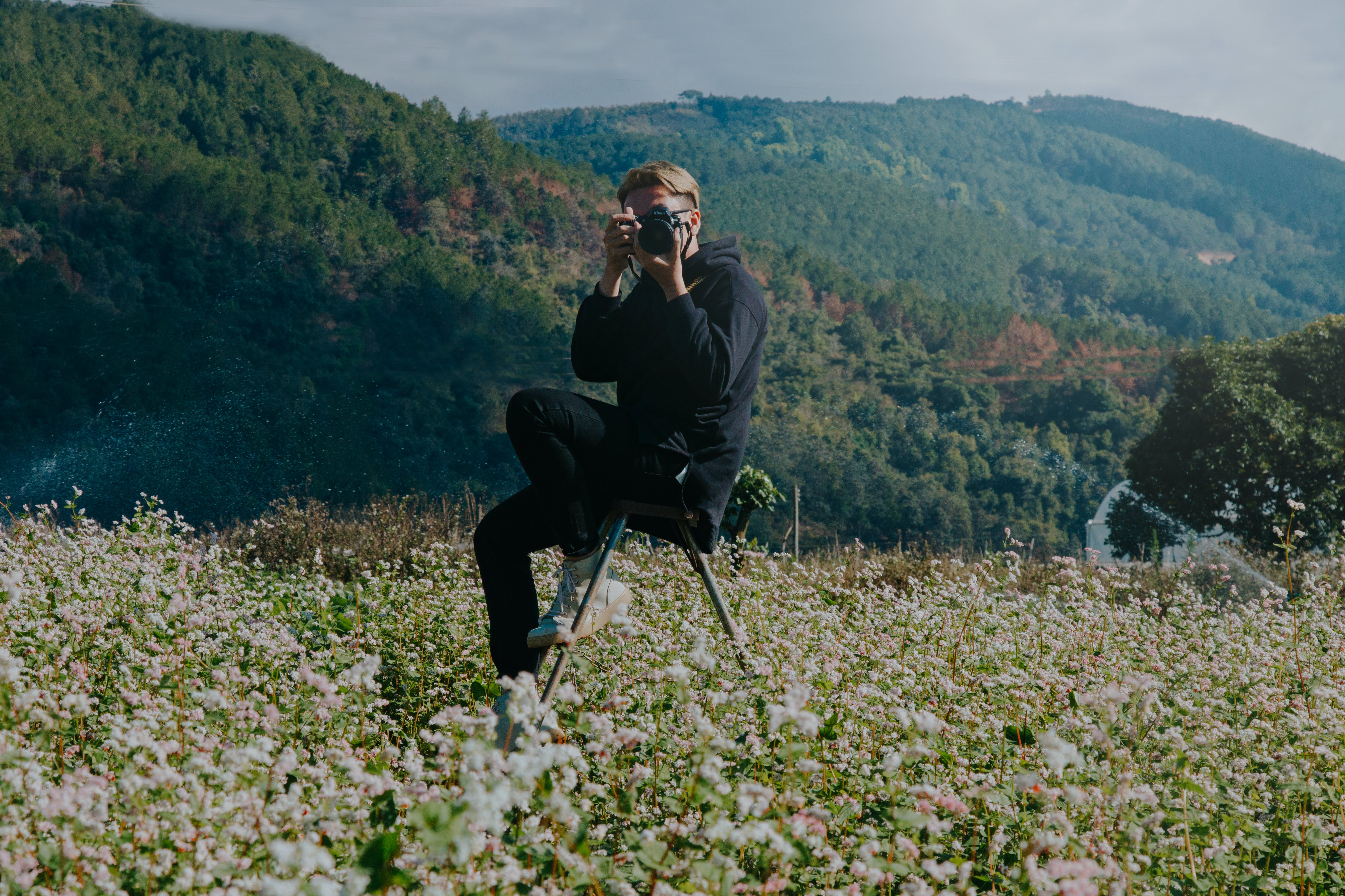 Ảnh lưu trữ miễn phí về ban ngày, cánh đồng, chụp ảnh, Máy ảnh