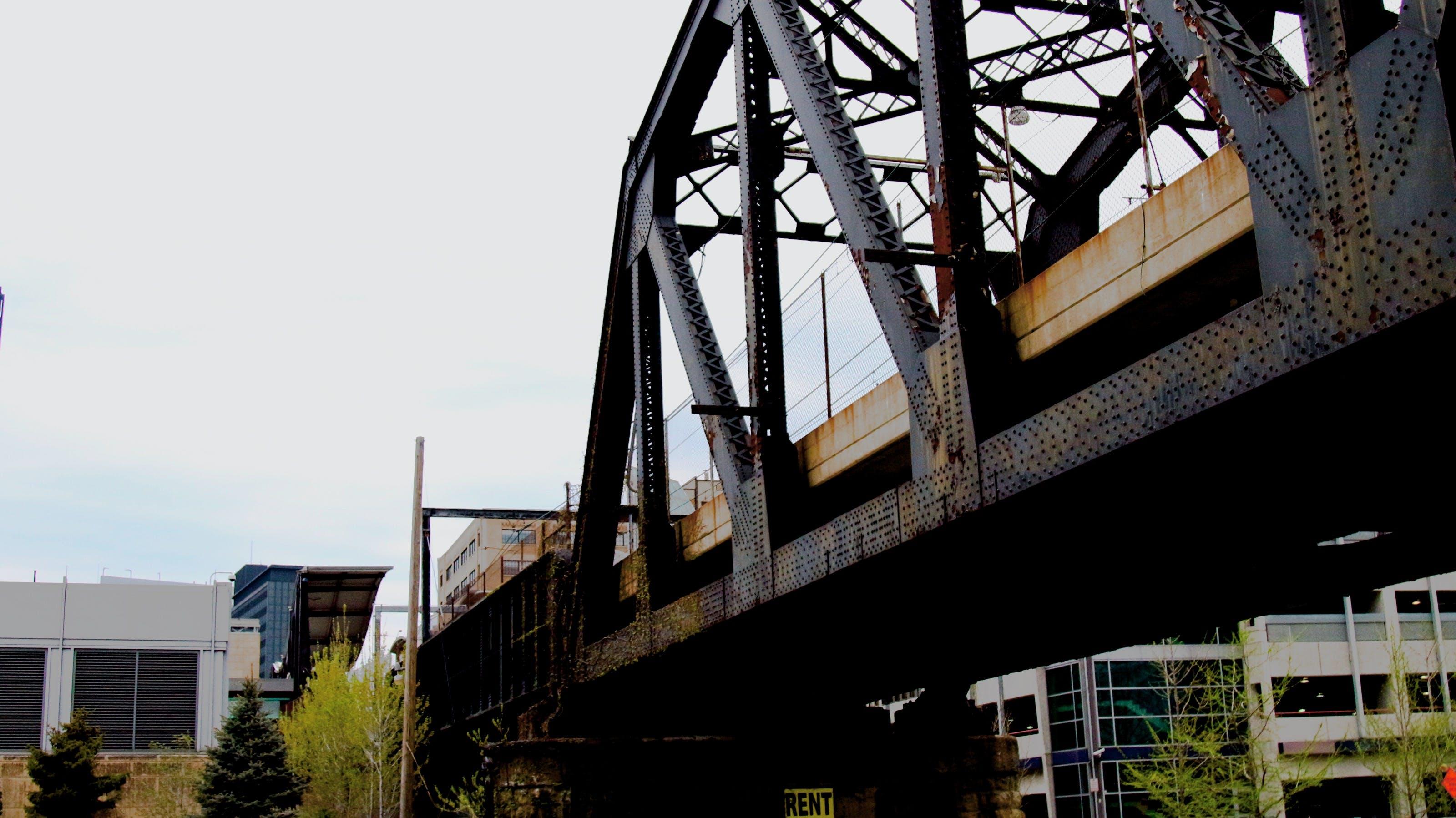 Free stock photo of city, sky, bridge, rust