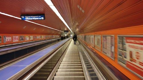 Gratis stockfoto met Boedapest, hongarije, metro, ondergrondse