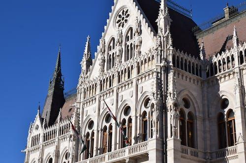 Gratis stockfoto met Boedapest, hongaars parlementsgebouw, hongarije, zon