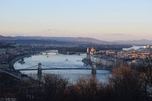 Gratis stockfoto met #budapest #skyline