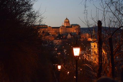 Gratis stockfoto met Boedapest, hongarije, kasteel, nacht