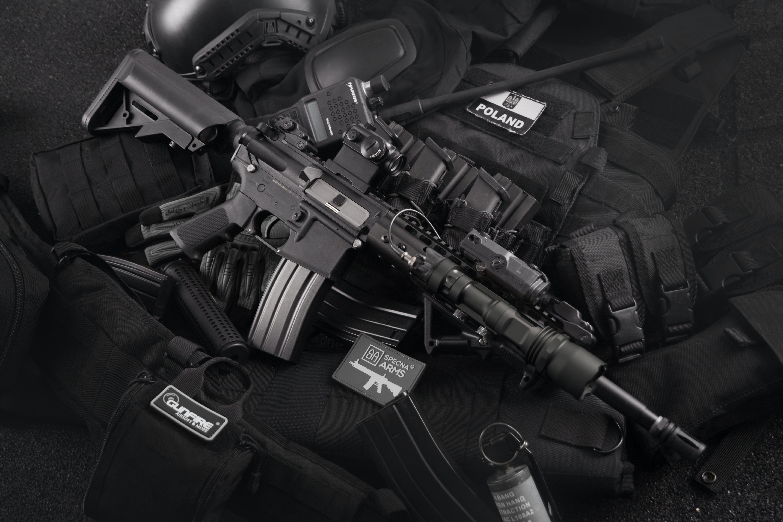 Ingyenes stockfotó fegyverek, fekete-fehér, hadsereg, lőszer témában