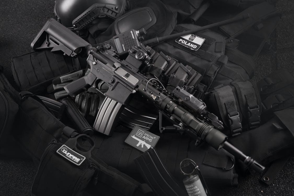 라디오, 라이플, 무기