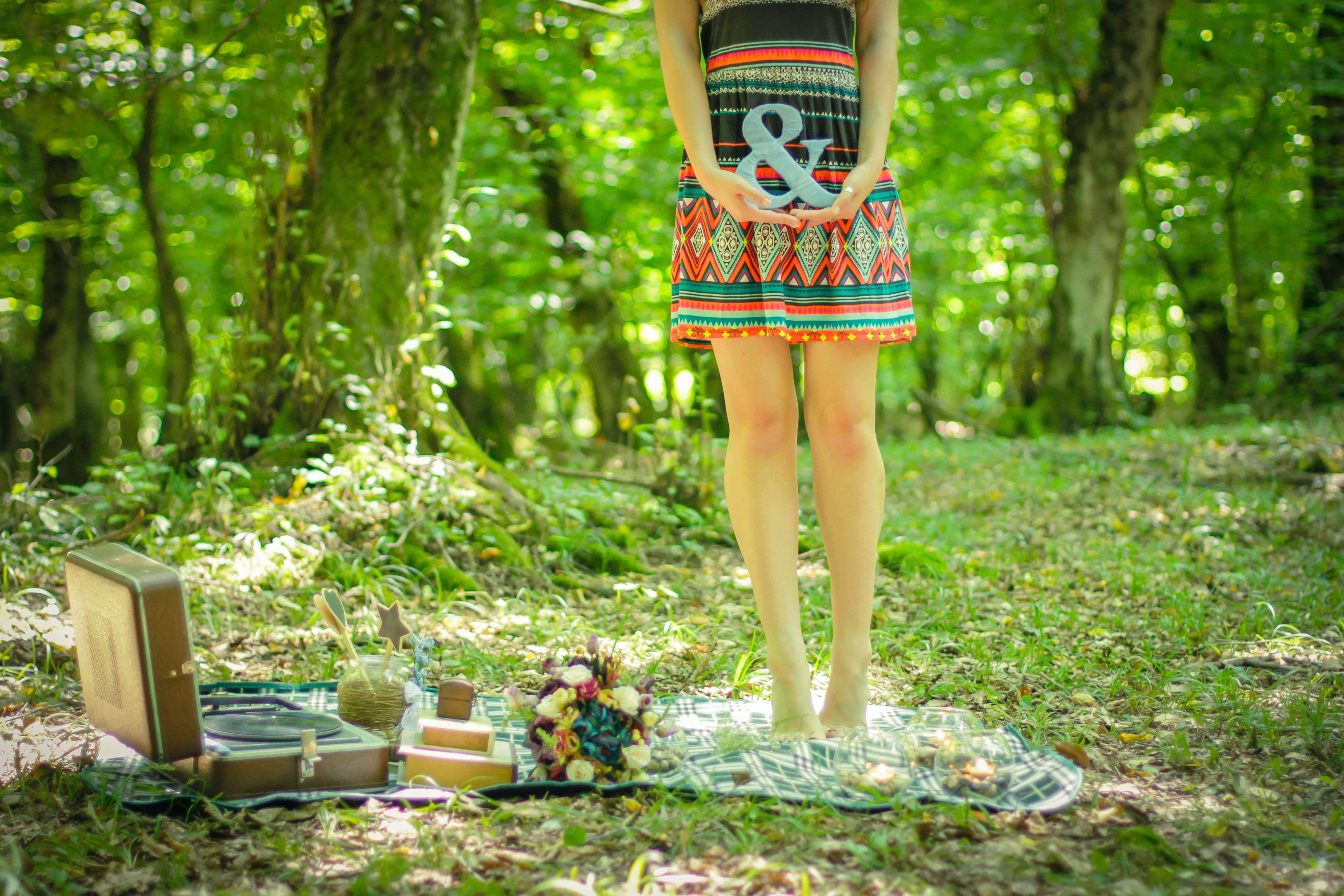 Základová fotografie zdarma na téma deka, denní, holka, kytice