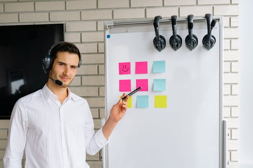 Free stock photo of call center, colleagues, office