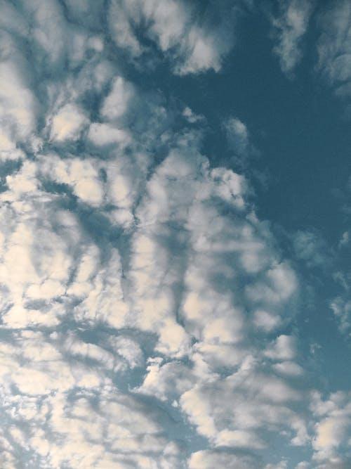 Foto stok gratis angkasa, awan, bengkak