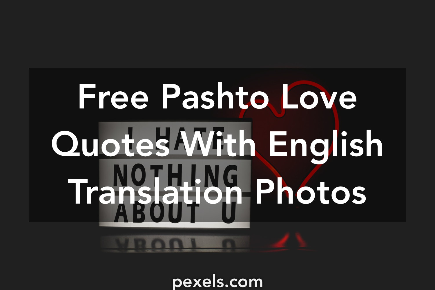 1000 Great Pashto Love Quotes With English Translation Photos