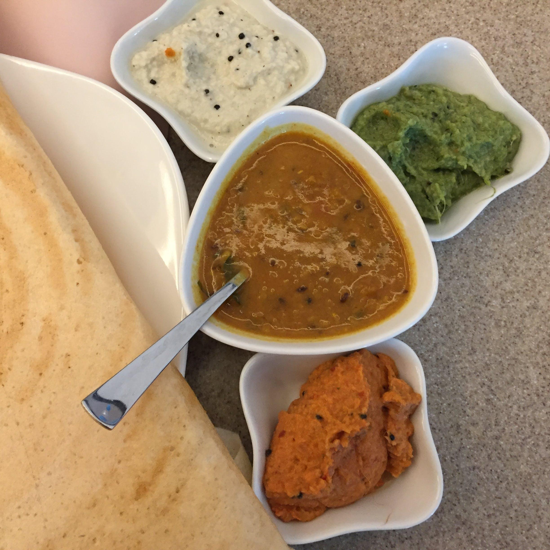 Free stock photo of breakfast, Masala dosa, south india