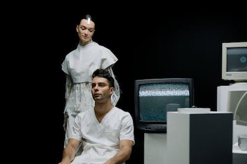 Darmowe zdjęcie z galerii z ekran, futurystyczny, kobieta