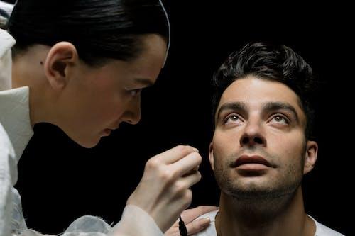 Darmowe zdjęcie z galerii z badanie, examen del olho, kobieta