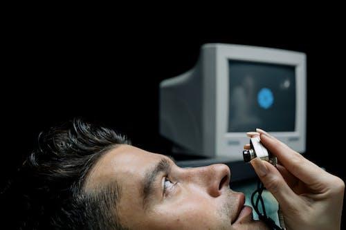 Darmowe zdjęcie z galerii z aparat, badanie, examen del olho