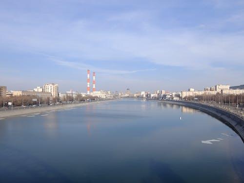 Бесплатное стоковое фото с город, москва, набережная