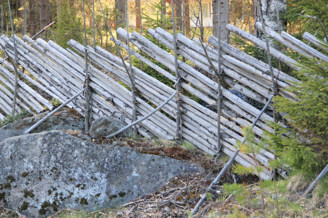 aidan seipäät, aita, Finland