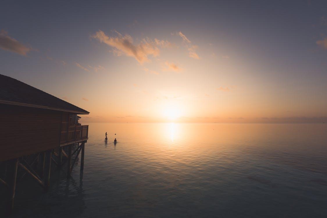 Ilmainen kuvapankkikuva tunnisteilla auringonlasku, aurinko, hämärä