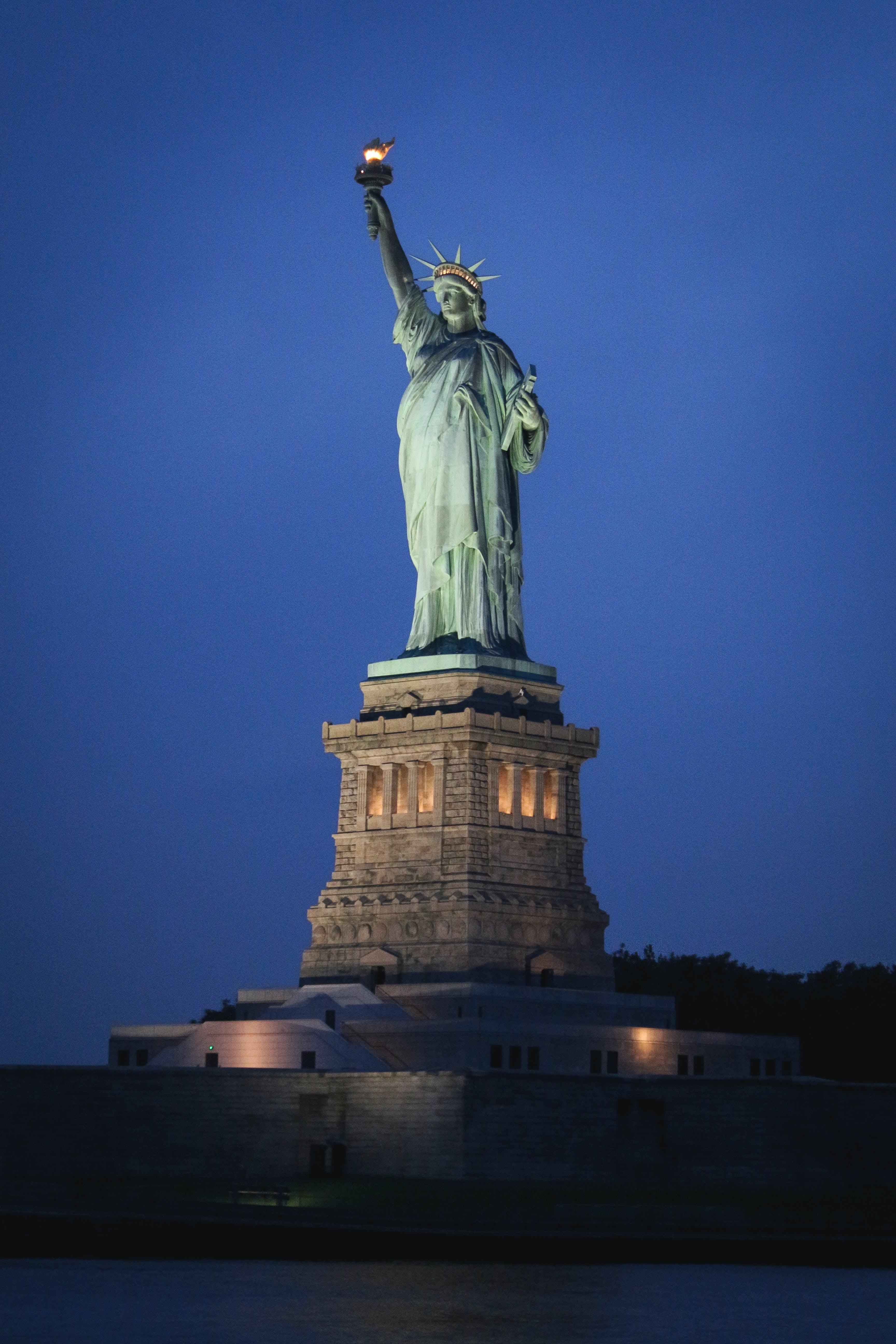 Kostenloses Stock Foto zu freiheitsstatue, monument, new york, new york city