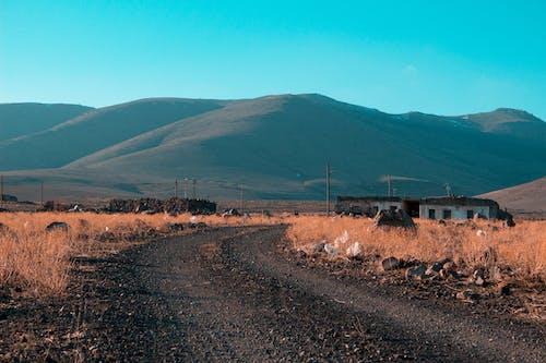 Fotobanka sbezplatnými fotkami na tému cesta, denné svetlo, hora, hracie pole