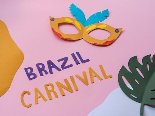 Ingyenes stockfotó brazil karnevál, kivágások, kivágott minták témában