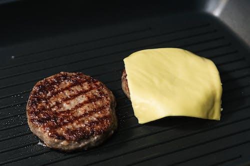 Darmowe zdjęcie z galerii z barbecue, cheeseburger, chleb