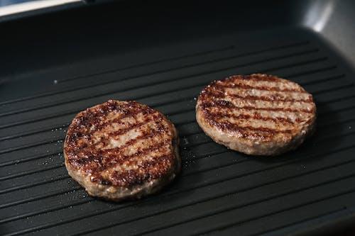 Darmowe zdjęcie z galerii z barbecue, burger wołowy, czekolada