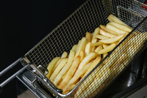 Darmowe zdjęcie z galerii z chleb, fast food, frytki