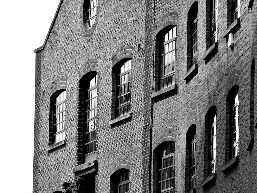 alt, architektur, außen