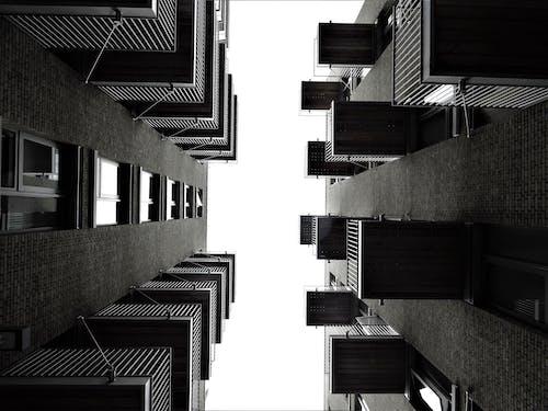 Fotobanka sbezplatnými fotkami na tému apartmán, architektúra, budova, čierny abiely