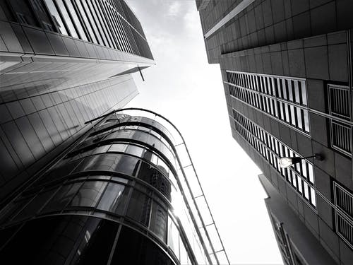 Gratis stockfoto met architectueel design, architectuur, downtown, futuristisch
