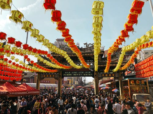 Yellow and Red Lanterns