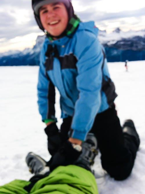 คลังภาพถ่ายฟรี ของ กลางแจ้ง, การพักผ่อนหย่อนใจ, การเล่นสกี